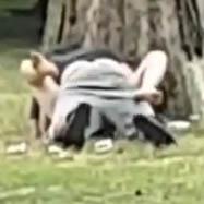 Parc Baise Le Public Dans Un couple