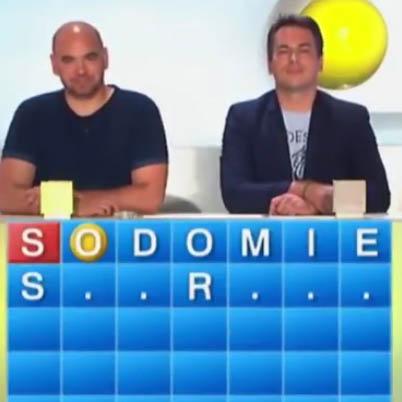 Merci Jacquie et Michel dans l'émission Motus sur France 2